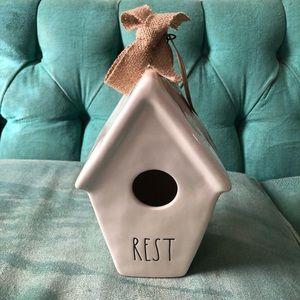 Rae Dunn rest birdhouse Nwt
